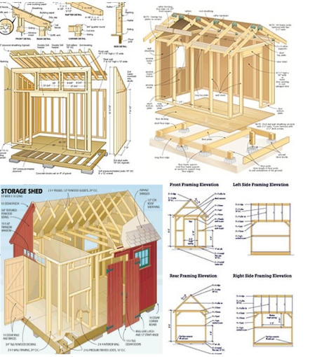 Woodworking and furniture plans club over 14 000 wood for Well shed plans