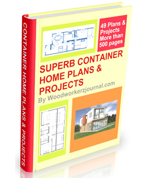 container home plans and projects book